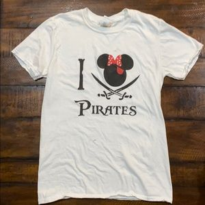 Custom Minnie Mouse pirate shirt worn once